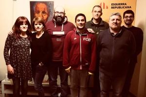 ERC renova la junta al Berguedà amb el repte de construir el màxim de llistes per a les municipals del 2019