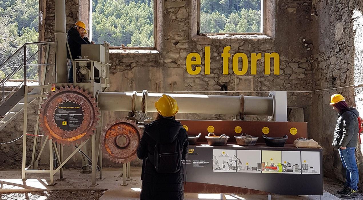 El Museu del Ciment Asland s'amplia i incorpora un forn de proves per a l'obtenció del clínquer