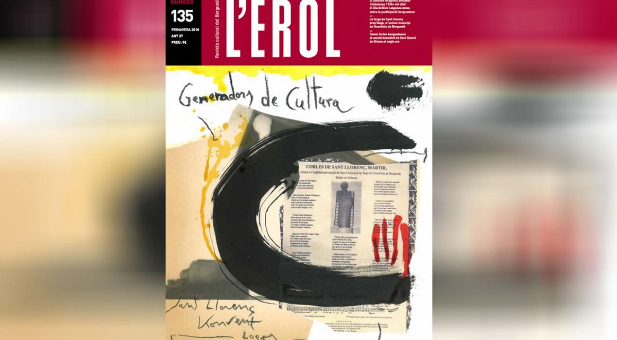 L'Erol dedica el seu nou número al monestir de Sant Llorenç, el Konvent de Cal Rosal i Logos Berguedà