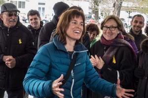 """Marta Armengou declara a Berga pels fets del 3-O: """"No he fet mal ni he dit res de dolent a ningú"""""""