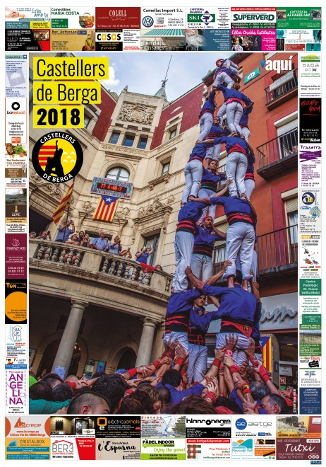 prova poster castellers 2018