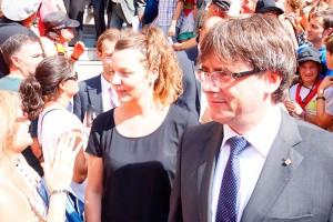 Berga convidarà els familiars dels presos polítics i dels exiliats al balcó de l'Ajuntament per Patum