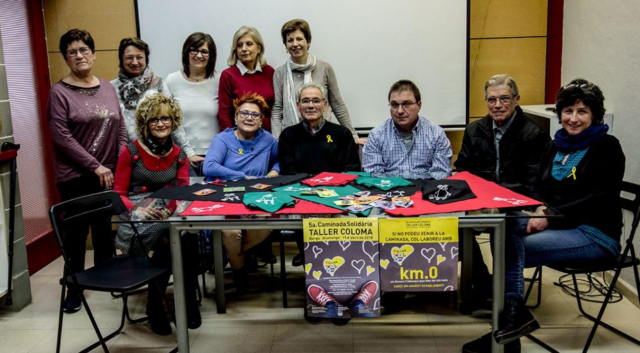 El Taller Coloma organitza aquest diumenge la cinquena edició de la seva caminada solidària