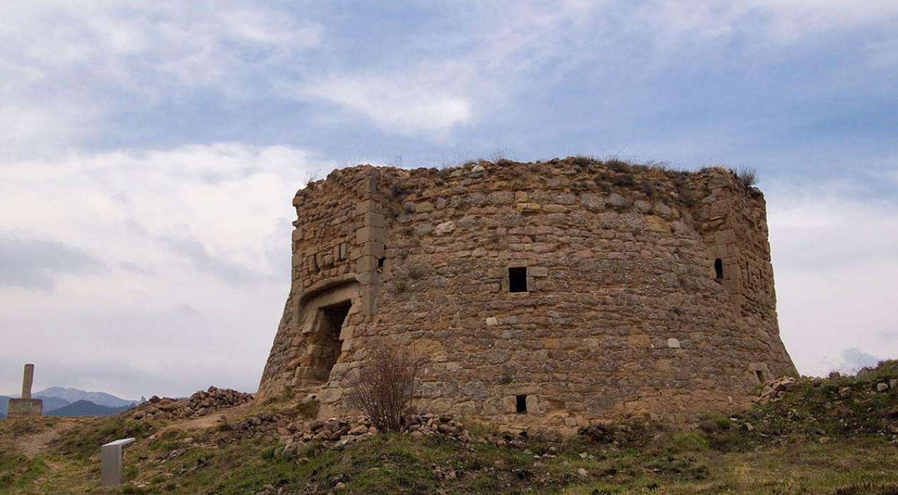 Berga rep un ajut de més de 160.000 euros per aturar el deteriorament de la Torre de la Petita
