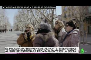 La Sexta porta set àvies andaluses a Berga per conèixer la Catalunya independentista