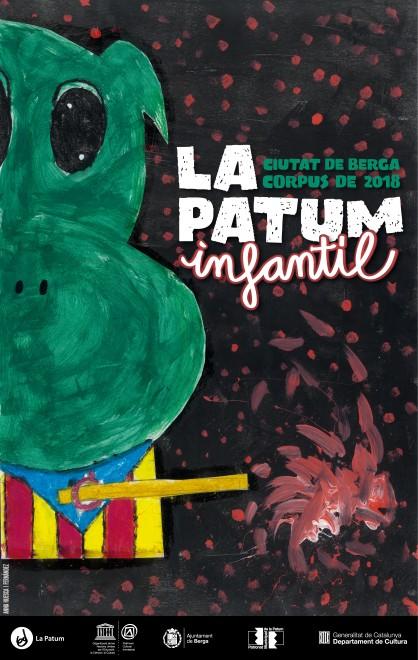Cartell Patum Infantil 2018