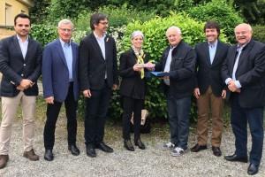 Una delegació de regidors de Berga participa en l'agermanament de Tarascon sur Ariège amb Tarascon en Provence