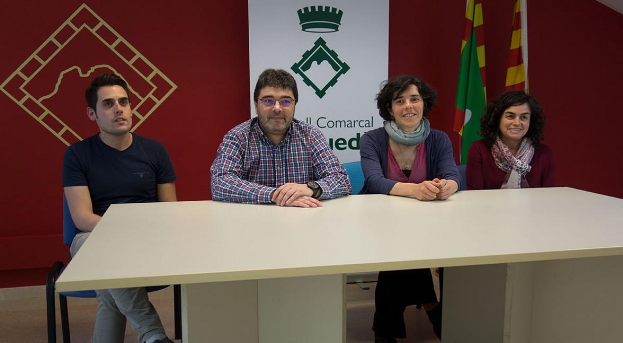 El Consell Comarcal complementa els cursos d'estiu de l'EOI amb beques per anar a camps de treball d'Europa