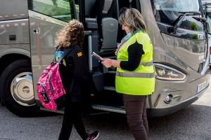 Nova ruta de transport escolar per acostar els nens de les colònies a l'institut de Gironella