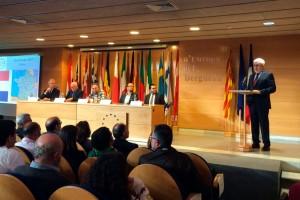 El veto de l'Estat a les ambaixades estrangeres empeny Berga a dedicar el Dia d'Europa a Catalunya
