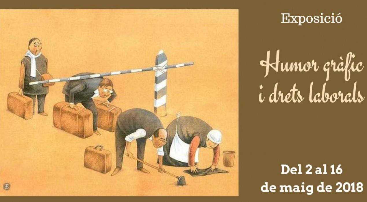 """Exposició """"Humor gràfic i drets laborals"""""""