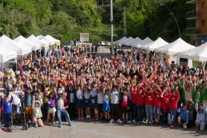 Berga acull dissabte la 8a edició del mercat de cooperatives escolars més gran de Catalunya