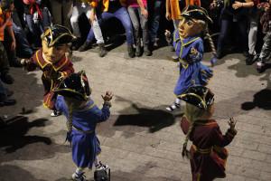 Fins a 16 persones ballaran per primera vegada els Nans Vells de la Patum aquest Corpus