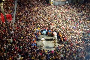 Berga suspèn oficialment la Patum 2021 i viurà el segon any consecutiu sense salts a la plaça