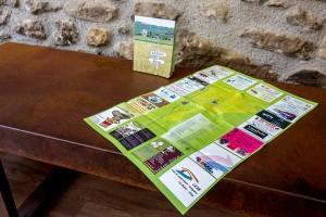 Bífidus Produccions edita un plànol d'Olvan amb totes les cases, negocis, carrers i punts d'interès del municipi