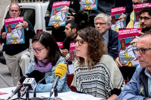 La plataforma d'entitats que defensen Venturós seguirà tractant-la com a alcaldessa de Berga