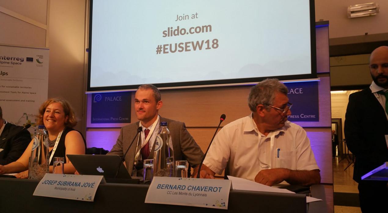 Europa es torna a fixar en el model energètic d'Avià i convida el municipi a un debat al Comitè de les Regions