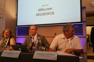 Europa escolta i aplaudeix l'estalvi energètic i les accions sostenibles que impulsa Avià