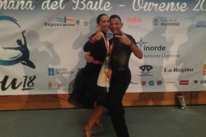 Joan Boixader i Rosanna Camprubí, tercers al campionat d'Espanya de balls llatins