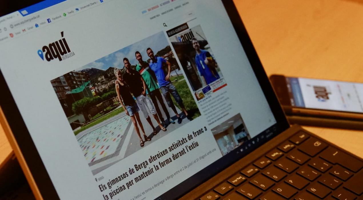 Aquí Berguedà bat rècords històrics a internet i és el segon mitjà que més creix a tot Catalunya