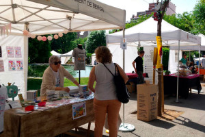 La fira de Berga dedicada a les al·lèrgies i les intoleràncies alimentàries aterra a la plaça de les Fonts