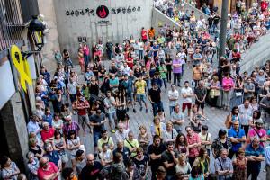 Concentració a la plaça de Sant Pere aquest dijous per rebutjar la inhabilitació de Venturós