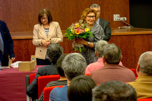 El Berguedà reconeix la doctora Foz, dedicada als serveis de salut mental a la zona durant 38 anys