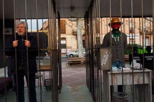 Instal·laran una presó a Berga perquè els berguedans s'hi tanquin en solidaritat amb els presos