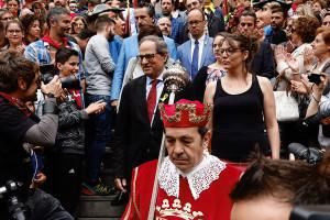 La Generalitat segueix retallant les ajudes econòmiques a la Patum