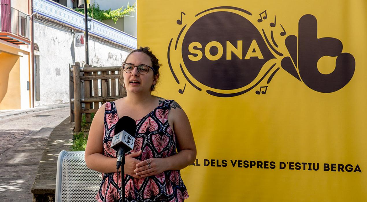 El festival de música dels dijous al vespre d'estiu a Berga es mou a la part alta del barri vell