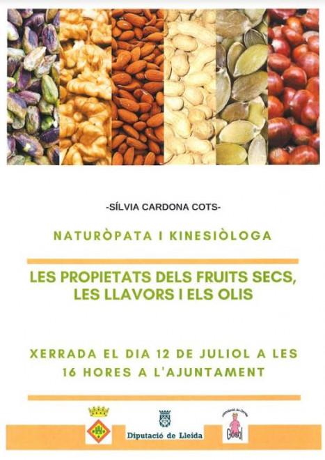 XERRADA: LES PROPIETATS DELS FRUITS SECS, LES LLAVORS I ELS OLIS @ Ajuntament de Gósol