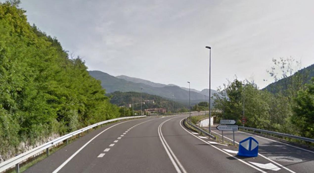 Un ferit lleu en un accident entre dos vehicles a la C-16, a Guardiola de Berguedà