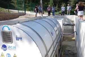 Castellar del Riu inaugura la depuradora després d'invertir-hi 250.000 euros