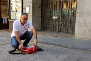 Berga treu al carrer tres desfibril·ladors que hi havia en edificis i avança cap a una ciutat cardioprotegida