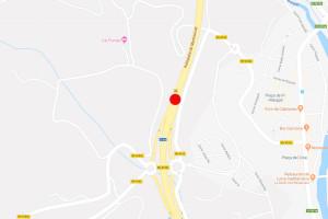 Un vehicle s'incendia a la C-16 a Gironella