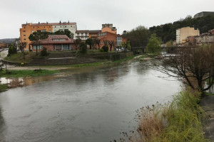 Es recomana evitar els accessos a les lleres del riu Llobregat per la crescuda del cabal
