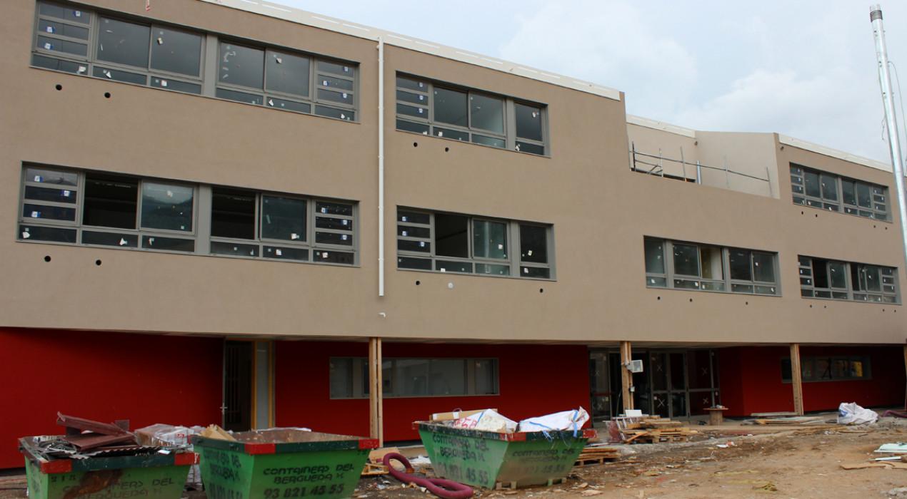 El nou edifici de l'institut Serra de Noet no estarà a punt com a mínim fins al gener