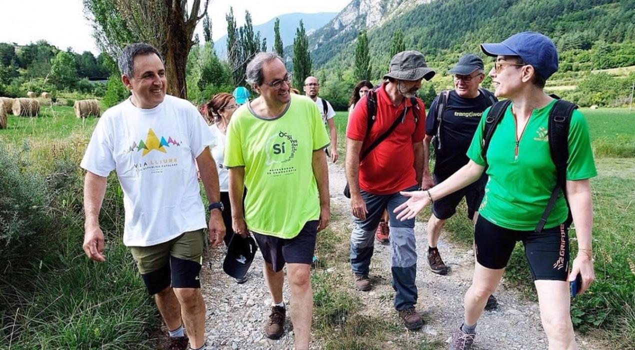El Camí dels Bons Homes registrarà les persones que fan la ruta amb dos nous eco-comptadors