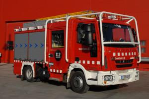 Intoxicat per fum un veí de Berga en cremar la seva cuina