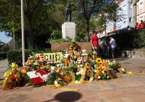 Els actes de la Diada de l'11-S a Berga, en imatges