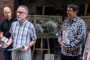 Els locals buits del carrer Major explicaran la història de la Penya Boletaire per la Berga Bolet