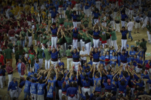 Els Castellers de Berga tornen a aconseguir el bitllet per Tarragona