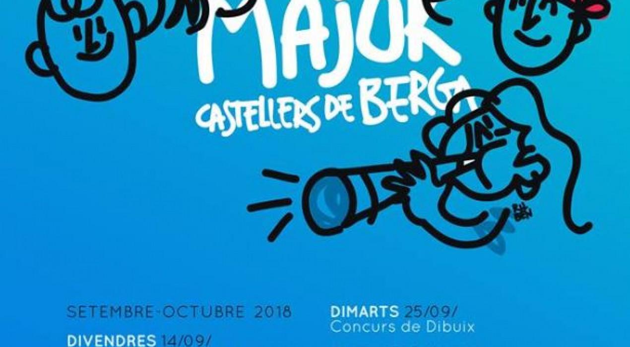 Festa Major dels Castellers de Berga 2018