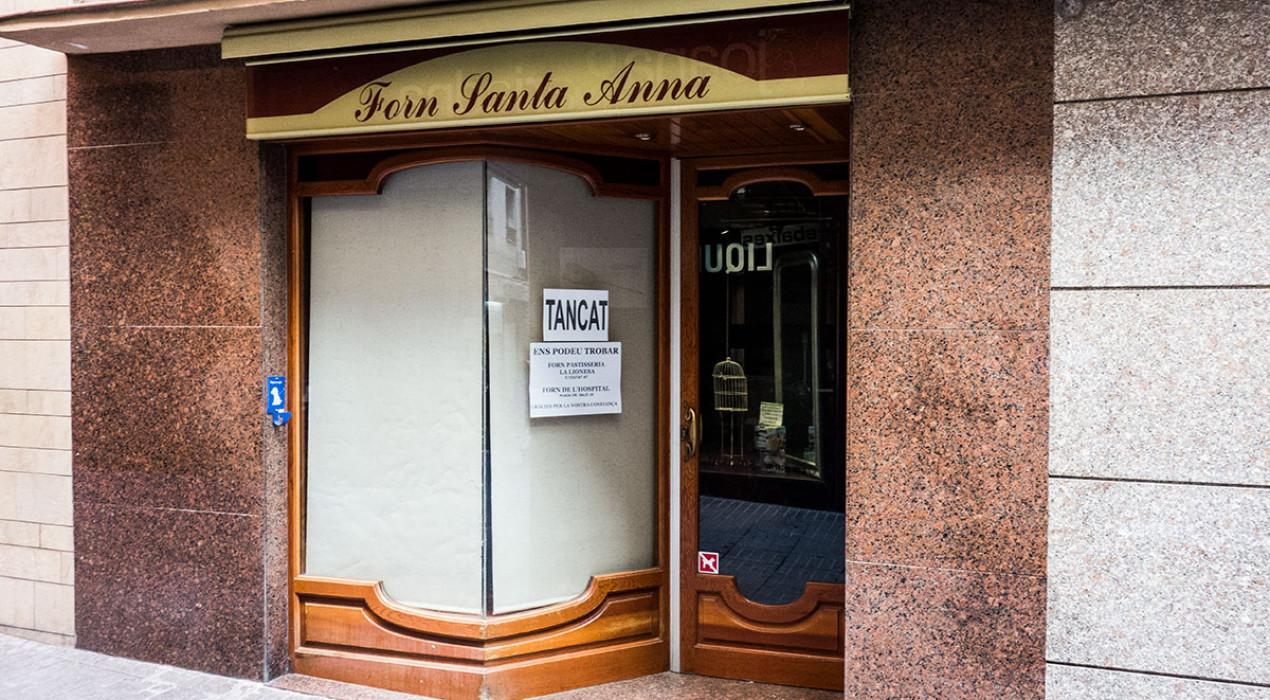 Tanca el Forn Santa Anna, una de les botigues més emblemàtiques del carrer Major de Berga