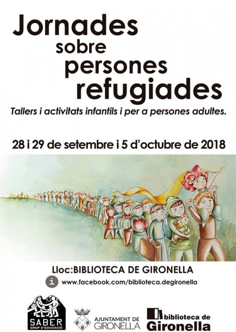 XERRADA INFORMATIVA sobre la realitat de les persones refugiades que arriben al Berguedà @ Biblioteca de Gironella