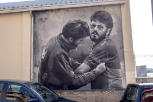 L'Handbol Berga dedica un mural a Toni Sabata i a la generació daurada del club
