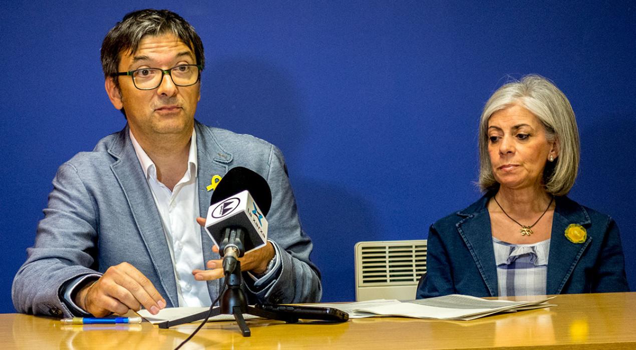 """El PDeCAT diu que la CUP ha deixat escapar ajuts i proposa un pressupost alternatiu """"per a una ciutat d'oportunitats"""""""