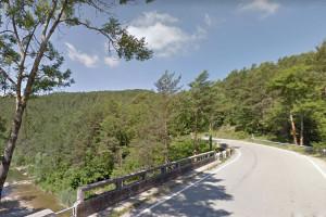 La carretera que uneix Borredà i Alpens quedarà tallada tot l'octubre