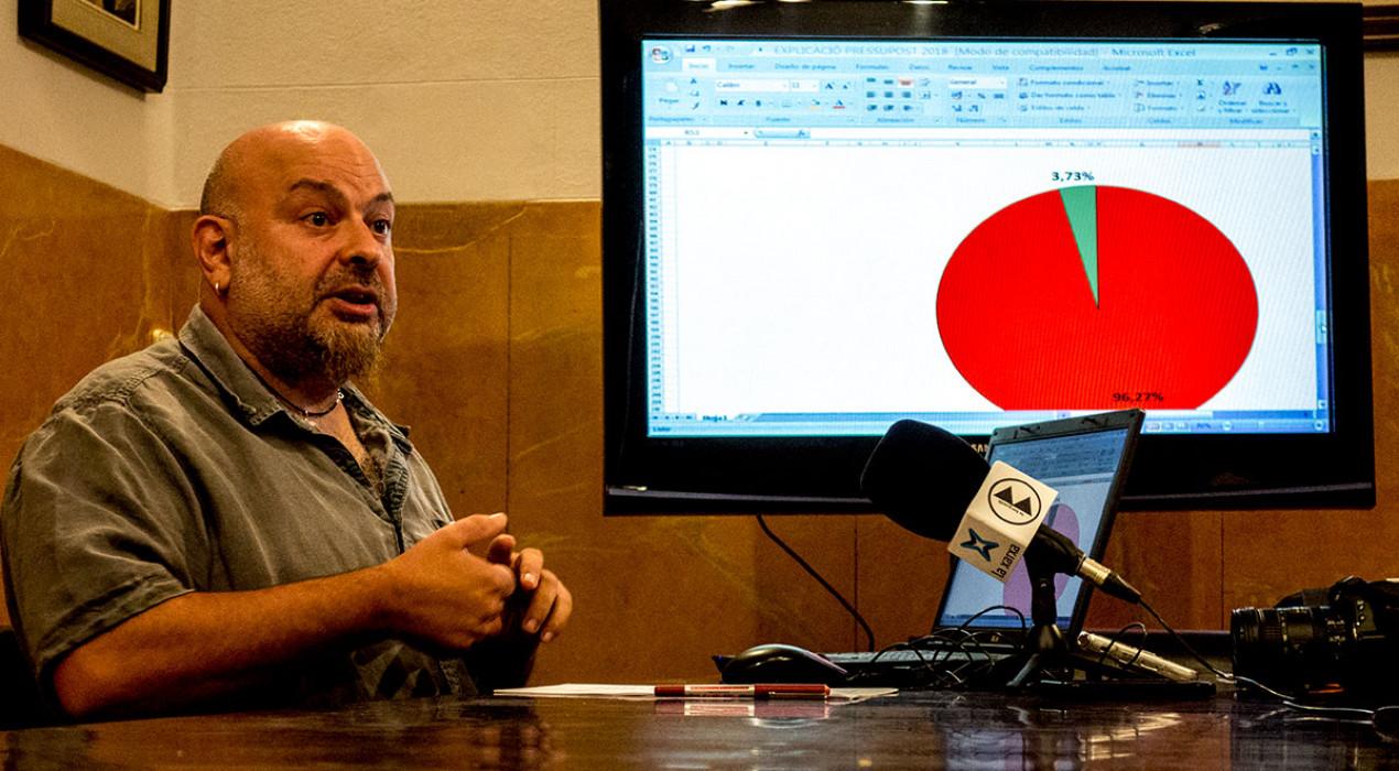 """Francesc Ribera: """"La situació econòmica de l'Ajuntament de Berga serà crítica fins al 2022, com a mínim"""""""