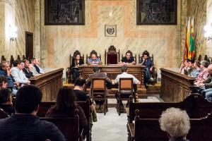 """El govern de Berga seguirà treballant """"colze a colze"""" amb Venturós i deixa la seva cadira buida"""